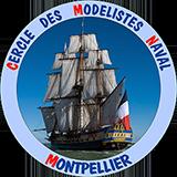 Cercle des modélistes naval de Montpellier Logo